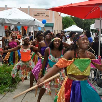 Dancing With Haitians At La Fete De >> 4th Annual Haitian Caribbean Book Fair