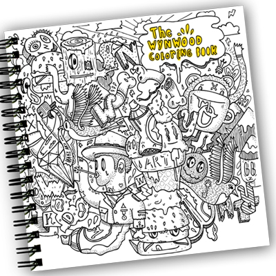 Wynwood Coloring Book Upcoming Events