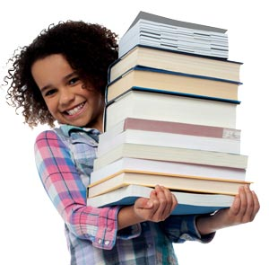 girlscout-with-books